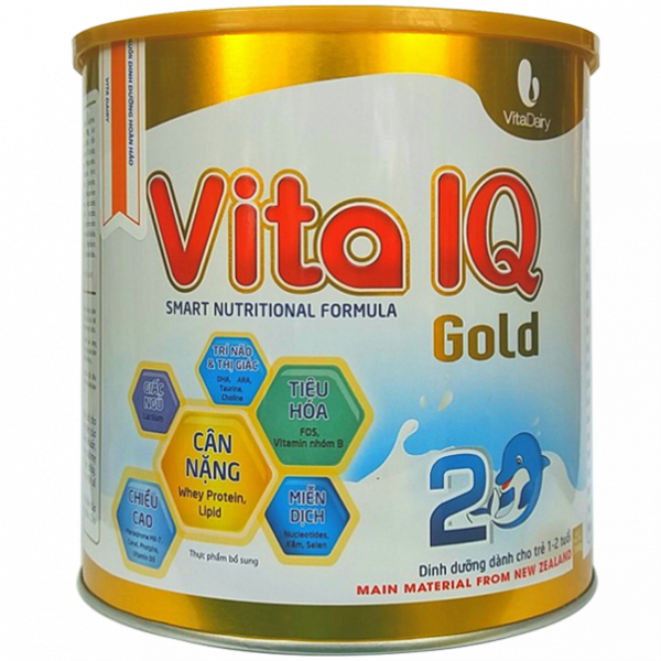 Sữa bột Vita IQ Gold 2